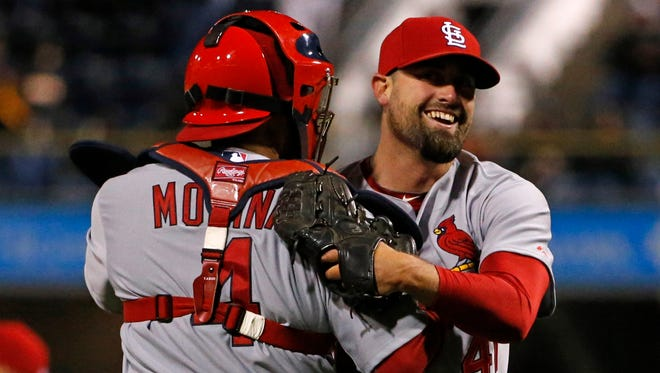 Pat Neshek was reluctant to sign with the Cardinals, but has evolved into a dominant reliever for the defending NL champs.