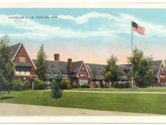 Built in 1918, the American Club, now a resort hotel