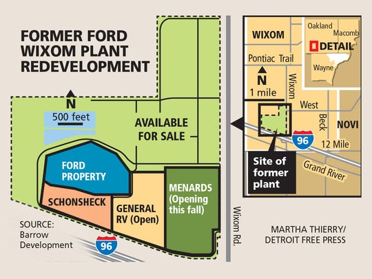 Former Ford Wixom plant redevelopment