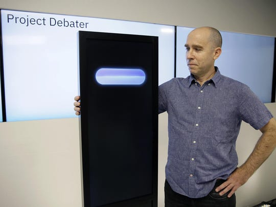 Dr. Noam Slonim put humor into the programming for the IBM Project Debater, but initial internal tests showed it backfired.