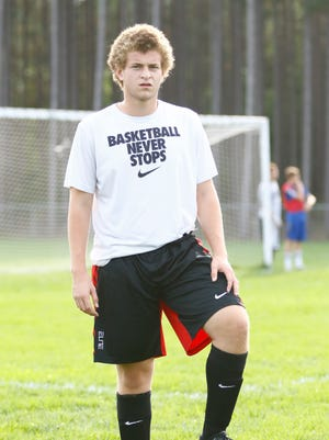 Tekoya Cosby has started for the Wisconsin Valley Lutheran boys soccer team since his freshman season.