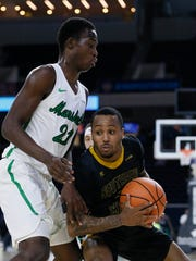 Southern Miss Golden Eagles guard Tyree Griffin (5)