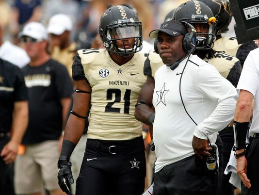 NCAA Football: Vanderbilt at Georgia Tech