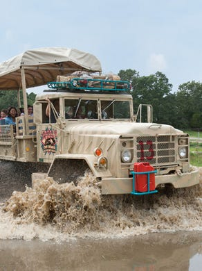2016: The open-air safari vehicles that drive through the Safari Off Road Adventure at Six Flags Great Adventure.