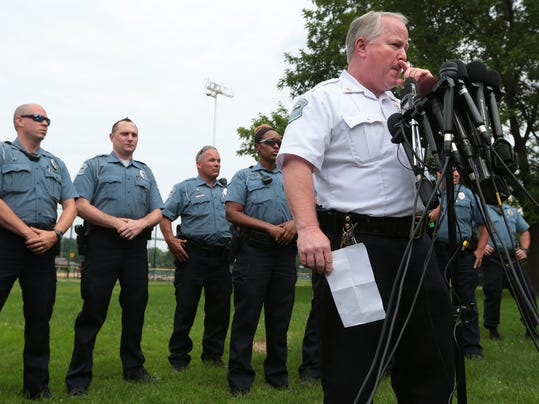 AP Police Shooting Missouri