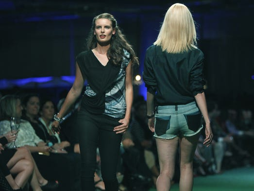 It was the final runway show of Fashion Week at the