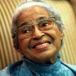 Rosa Parks through the years