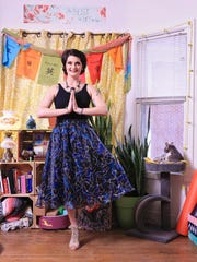 Stylemaker Shawna Hickok is finishing her masters degree from Bellarmine University who also works as a yoga instructor.