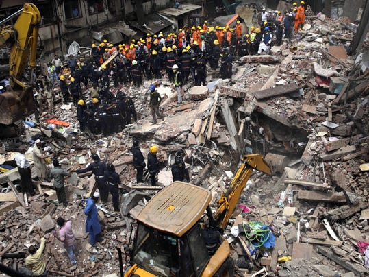 India Building Collapse