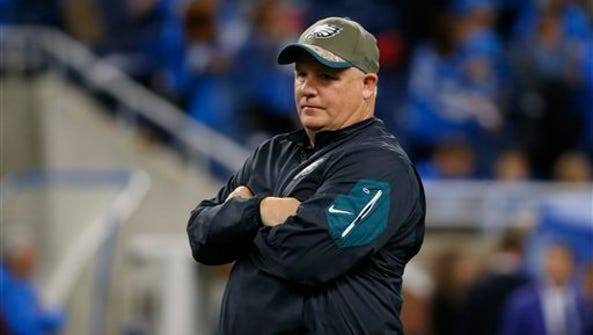 Eagles coach Chip Kelly said he plans on playing his