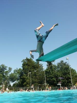Springfield pools open Saturday.