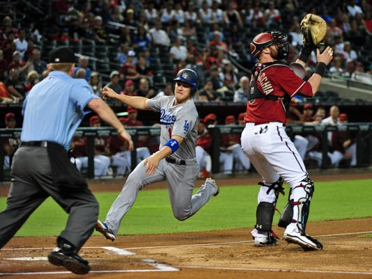 MLB: Los Angeles Dodgers at Arizona Diamondbacks