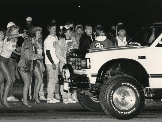 Cruising on Kearney Street on Sept. 23, 1989.