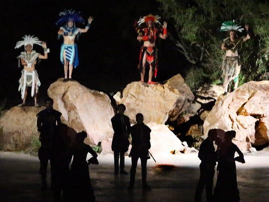 """Viva! El Paso"" tells the 400-year history of the El Paso region through drama, dance and music on Fridays and Saturdays at McKelligon Canyon."