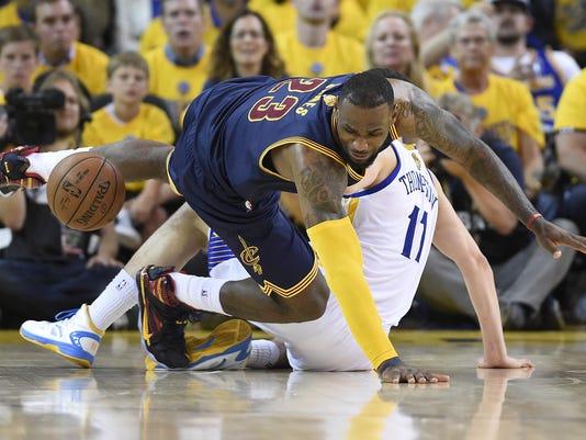 NBA: Playoffs-Cleveland Cavaliers at Golden State Warriors