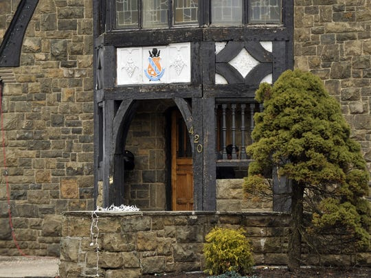 This Tuesday, March 17, 2015 photo shows The Kappa Delta Rho fraternity house at Penn State University in State College, Pa.  The fraternity has been suspended as police investigate allegations that members used a private, invitation-only Facebook page to post photos of nude and partly nude women in sexual and other embarrassing positions, some apparently asleep or passed out.  (AP Photo/Centre Daily Times, Christopher Weddle)  MANDATORY CREDIT; MAGS OUT