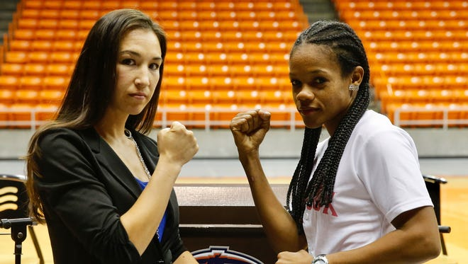El Paso's first world boxing champion Jennifer Han will make her second title defense against Liliana Martinez of the Dominican Republic on Oct. 15 at the Don Haskins Center.
