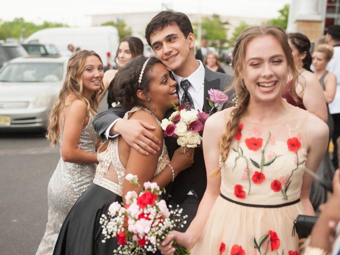 The Millville High School Senior Prom held at Adelphia's