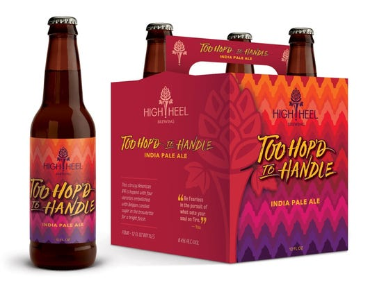 One of High Heel Brewing's first two releases, Too
