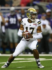 UCLA quarterback Brett Hundley will be a developmental