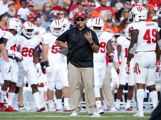 Hoosiers coach Tom Allen will try to lead IU to its third-straight bowl appearance.