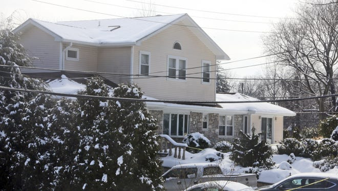 The home at 1 Adelphi Ave. in Harrison, photographed Feb. 22, 2015, a day after Glen Hochman, a retired White Plains police officer, killed two of his daughters before taking his own life.