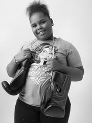 Eyainna McClain, 9,  plans to one day run a gym and