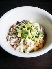 Chopped Salad at The Cassidy Bar + Kitchen in Maplewood.