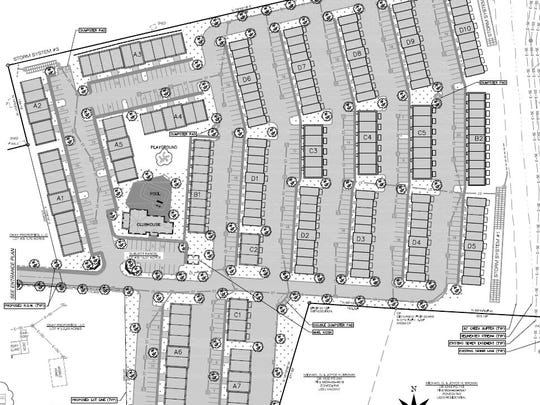 The Villas of Avery Creek on Brevard Road will include 255 apartments if the Buncombe County Board of Adjustment approves the plans at its May 10 meeting.