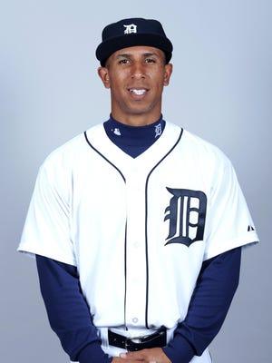 Tigers centerfielder Anthony Gose