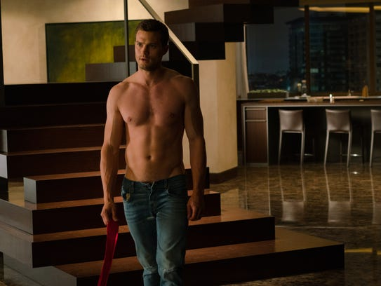 "Jamie Dornan is Christian Grey in ""Fifty Shades Freed."""