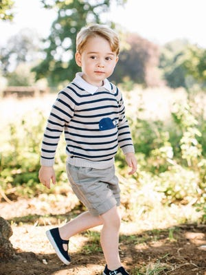 An employee at a British nonprofit has come under fire for criticizing Prince George.