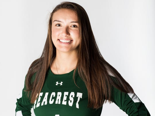 2016 Fall Player of the Year finalist Piper Matsumoto, Seacrest Country Day High School volleyball