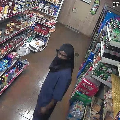 One of the suspects in a Friday armed robbery, according