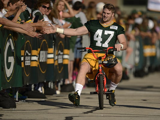GPG Packers training camp July 30
