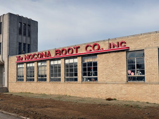 The old Nocona Boot Co. building will be the location