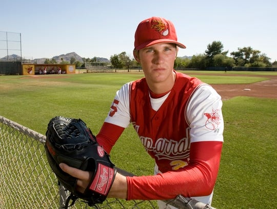 Scottsdale Chaparral High School's Charles Brewer.