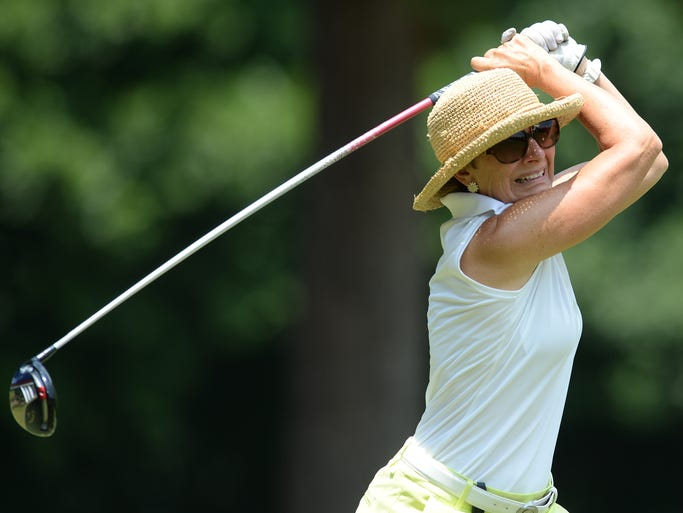 First round of the Greater Greenville Area Ladies Amateur Golf Championship Monday, August 4, 2014 at Green Valley Country Club in Greenville.