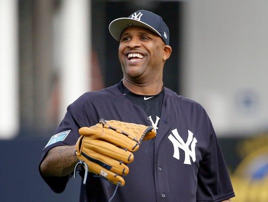 Feb 13, 2018; Tampa, FL, USA; New York Yankees starting