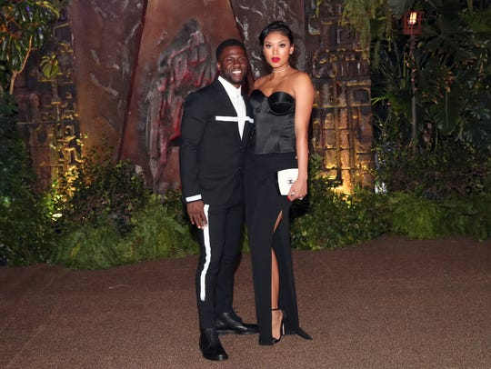Kevin Hart and his wife, Eniko Parrish, attended the
