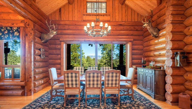 Tim Salmon's cabin-style home in Flagstaff is on the market for $3.25 million.
