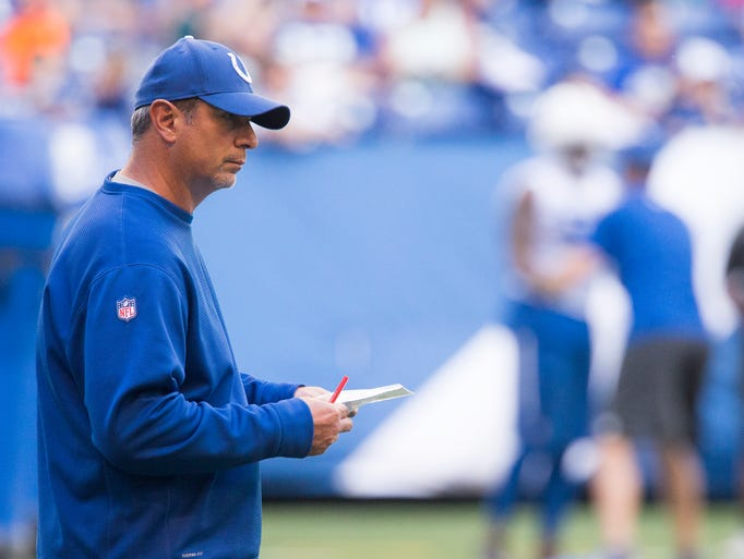 Ted monachino defensive coordinator during colts