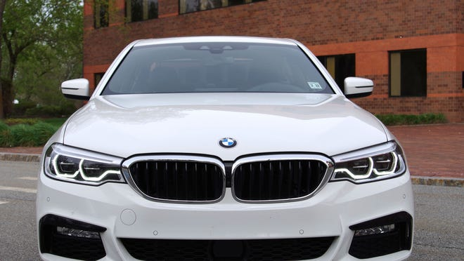From the front, the 5 Series remains a familiar face.