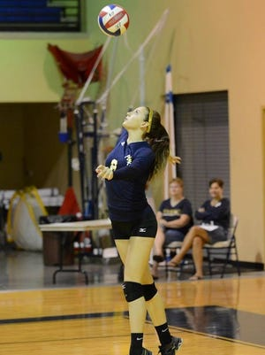 SFCA sophomore Kortney Curtis was chosen to try out for the Team USA A1 volleyball team in Colorado Springs, Colorado at the United State Training Center in July