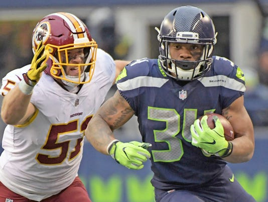NFL: Washington Redskins at Seattle Seahawks