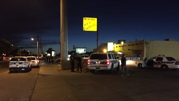 """Police were called to the area of 51st Avenue and Camelback Road Wednesday night on an """"officer-down"""" report. Officials say it might have been a prank."""