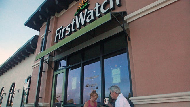 Jennifer Trefelner recently tried the First Watch restaurant in St. Lucie West with some friends from work.