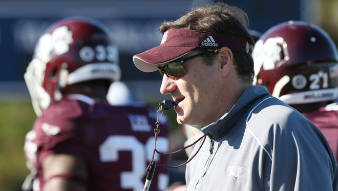 Mississippi State and coach Dan Mullen will spend the holidays away from home.