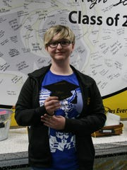 Southeast Polk Senior Trinity Thomsen is headed to DMACC after graduation to study animation design.