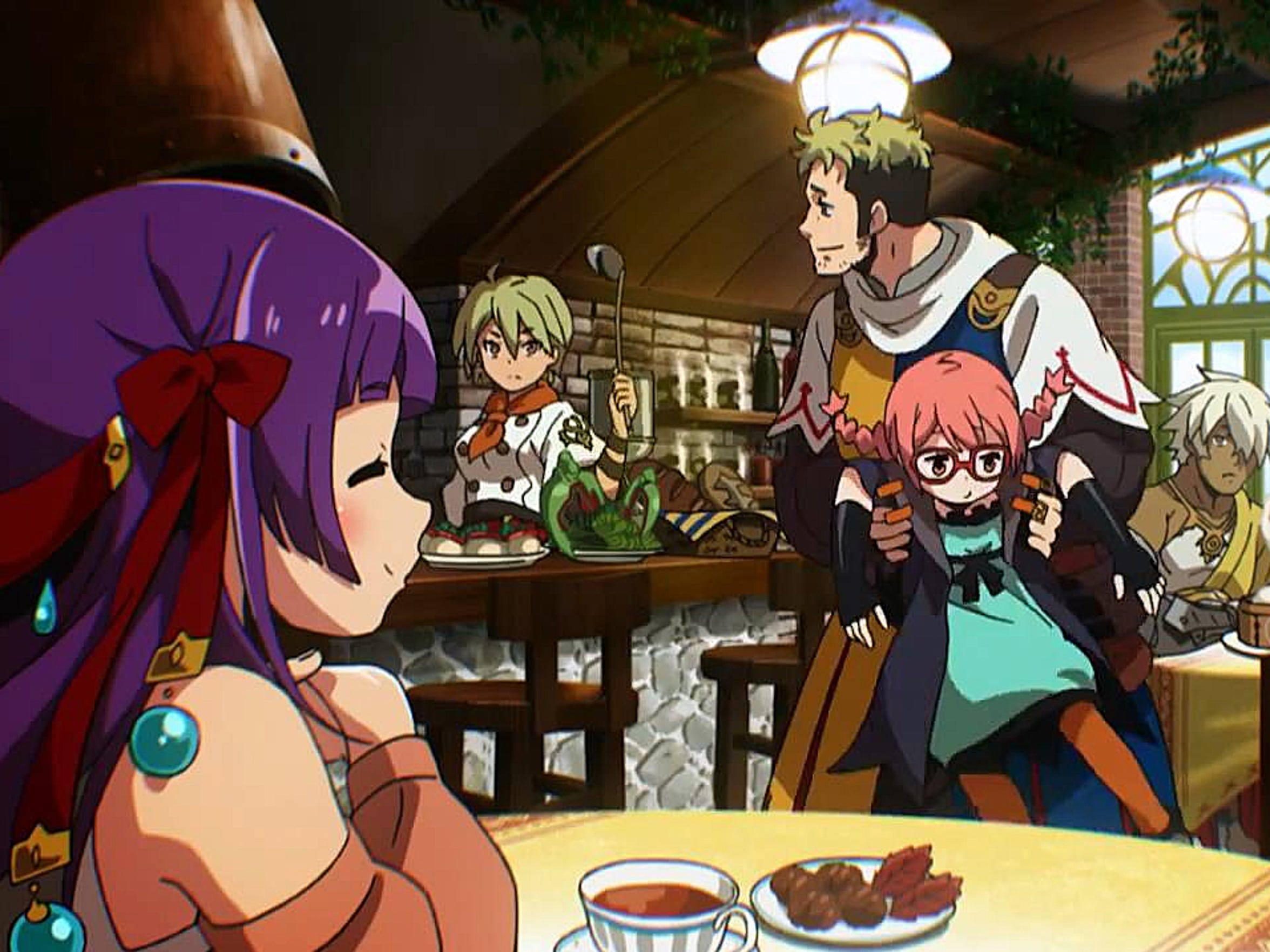 """Etrian Odyssey 2 Untold: The Fafnir Knight"" adds a story mode with a kooky cast of characters."